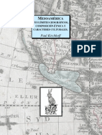 Mesoamerica, Paul Kirchhorff