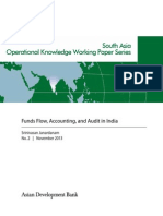 Funds Flow, Accounting, and Audit in India