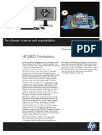 ~ HP z800 Workstation Datasheet (2009.03.30)