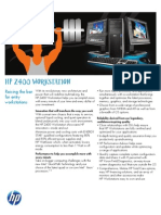~ HP z400 Workstation - DataSheet (2011.06-Jun)