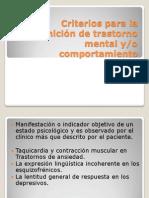 Clasificaciones Internacionales Para Los Trastornos Mentales (2)