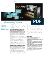 ~ HP z600 Workstation DataSheet (2009.03-Mar)