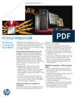 HP z800 Workstation Datasheet (2010.08-Aug) (Xeon X5600 Series)