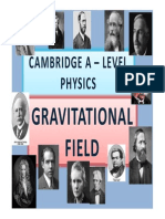 Chapter 08 Gravitational Field