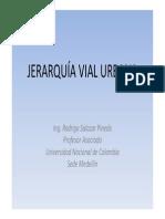 Jerarquia Vial Urbana