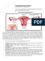 MODULE 1FEMALE Reproductive System