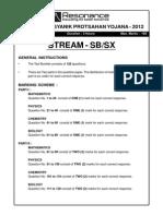 Kvpy 2012 Sb Sx Solution1