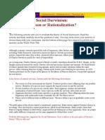 xSocial Darwinism