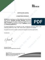 certificados actualizados