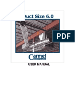 Duct size 6 (user manual)