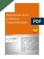 Reglamento de los profesores EAD de LaClave 2013 (versión 1).doc