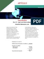 Tasa Efectiva Luis Avila 1