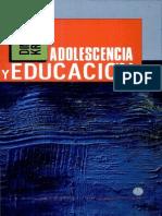 Dina Krauskopf Adolescencia y Educacion