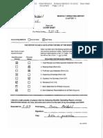 Steven Meldahl Operating Report 7-31-13