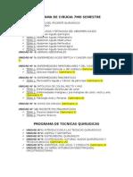 Programa de Cirugia 7mo Semestre 97-2003