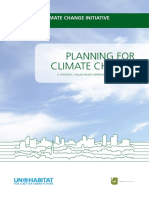 Planning Climate Change