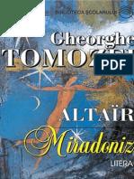 Tomozei Gheorghe - Miradoniz (Aprecieri)