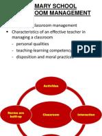 Primary School Classroom Management