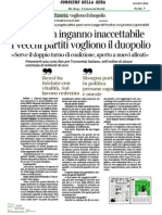 Corriere Sera Passera Legge Elettorale