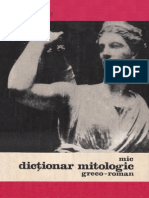 Mic Dictionar Mitologic Greco Roman