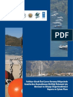 Fethiye-Gocek Özel Çevre Koruma Bölgesinde Gemilerden Kaynaklanan Kirliliğin Önlenmesi Çalışması
