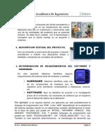 Etapas de Analisis y Diseño de Sistemas