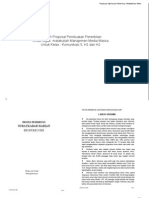 Contoh Proposal Penerbitan
