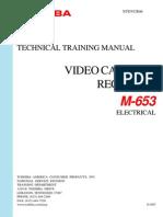 Toshiba VCR Training M-653