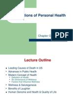Intro-Wellness 2010 Notes