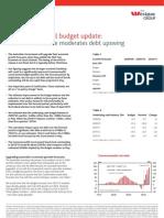 Westpac Budget Update