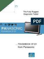 Panasonic Toughbook CF-D1 Datasheet