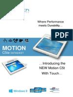 Motion c5te New 2013 Datasheet