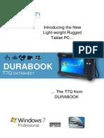 T7Q DURABOOK DATASHEET