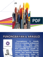Punong bayan and araullo firm Presentation