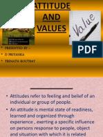 Attitudes and Values