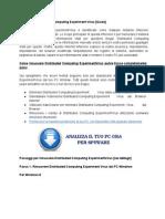 Disinstallare Distributed Computing Experiment dal PC Windows