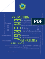 Promoting Energy Efficiency in Buildings Project Brochure