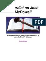 A Verdict on Josh McDowell
