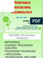 Vegetble Processing