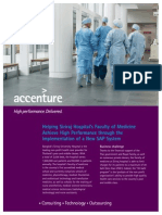 Accenture Health Public Service Siriraj Financial Management