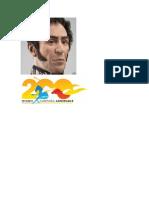 foto de simon bolivar y logo campaña admirable