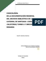Materiales  didácticos, 4  Codicología en la documentación medieval del Archivo-Biblioteca
