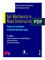 Soil Mechanics in Road Construction Cluj