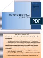 Oracle SCM Training