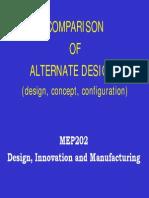 I-B-4 Design Alternatives Evaluation 2014 v1