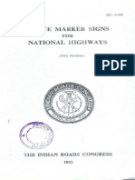 IRC-2-1968 Route Marker Signs for National Highways