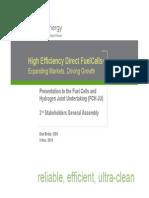 High Efficiency Direct FuelCells Daniel_brdar