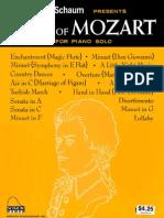 !! Book Best of Mozart for Piano Solo_John W. Schaun