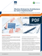 Effective Enterprise Architecture Program France