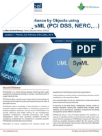 Security Compliance Objects Using UML SysML